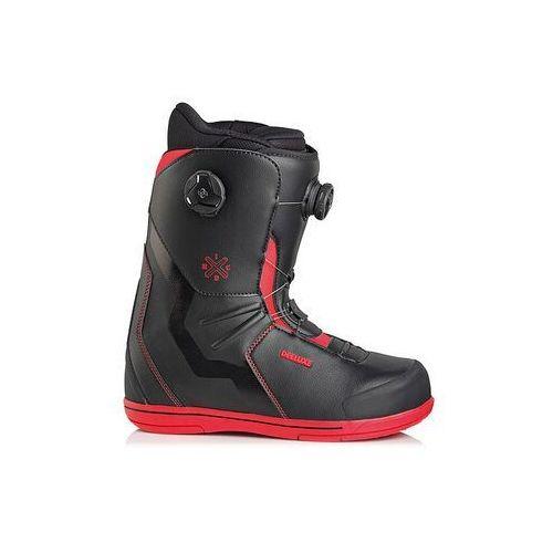 Buty snowboardowe - idxhc boa focus pf black/red (3927) marki Deeluxe