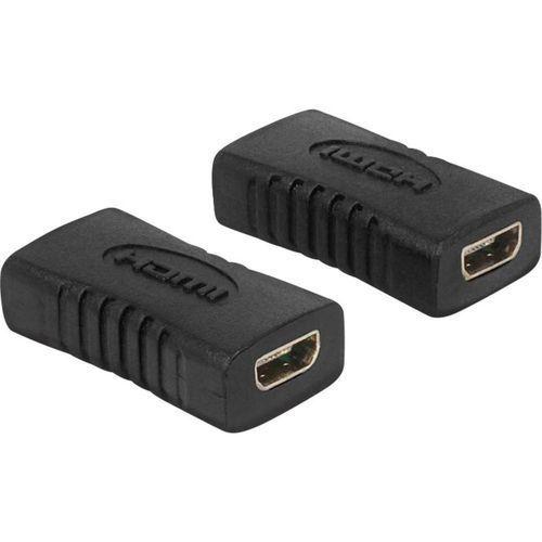 Przejściówka, adapter HDMI Delock 65505, [1x Złącze żeńskie micro HDMI (typ D) - 1x Złącze żeńskie micro HDMI (typ D)], kup u jednego z partnerów