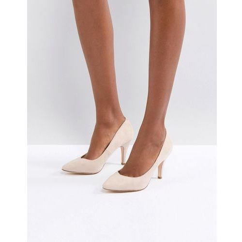 vintage point high heels - beige marki London rebel