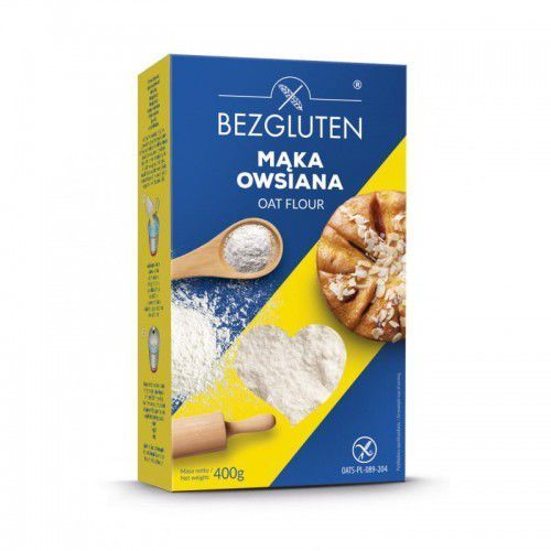 Mąka owsiana 400g - Bezgluten