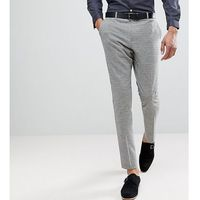 tall tapered trouser in dogstooth - grey marki Heart & dagger