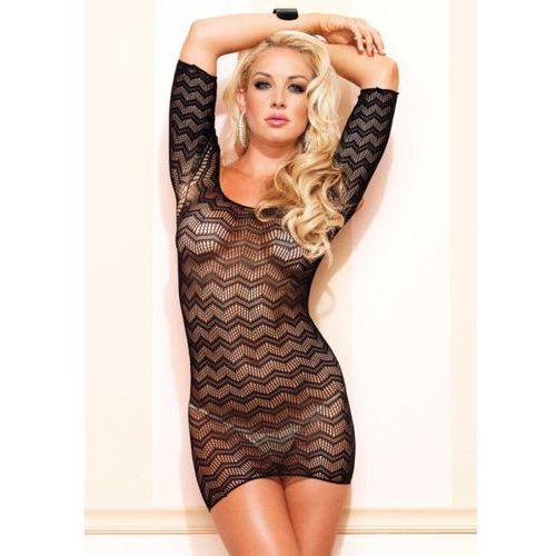 Leg avenue Fishnet mini dress w cut out back o (0714718492520)