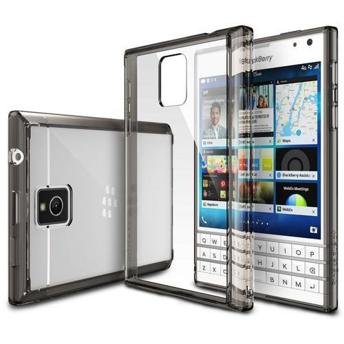 Etui Ringke Fusion Blackberry Passport Smoke Black (8809419552955)