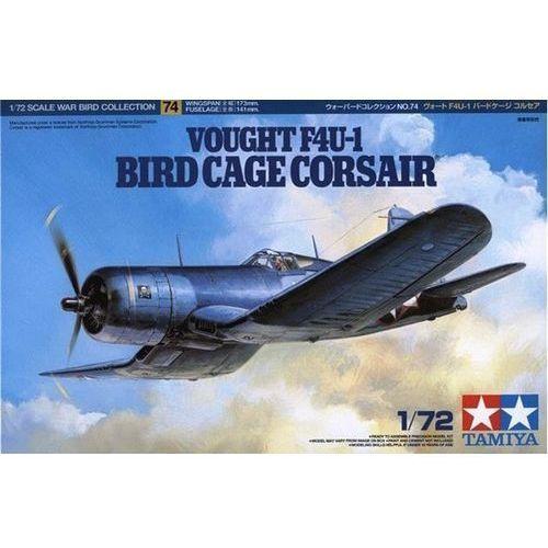 Model plastikowy vought f4u-1 bird cage corsair marki Tamiya