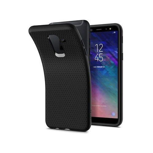 Etui Spigen Liquid Air Samsung Galaxy A6+ Plus Black, kolor czarny