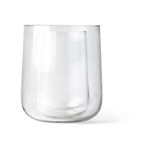 Menu Minimalistyczny szklany wazon w wazonie, 2 w 1 - (5709262962570)