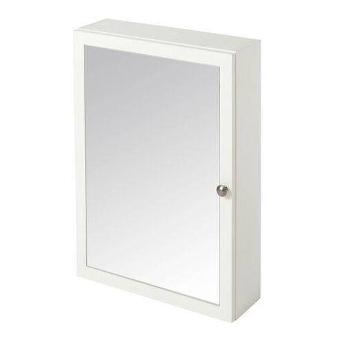 Szafka z lustrem perma 50 cm biała marki Goodhome