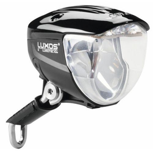lumotec iq2 luxos b dynamo rowerowe czarny lampy na dynamo marki Busch + müller