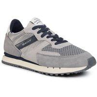 Sneakersy GANT - Grancliff 20637527 Sleet Gray G841, kolor szary
