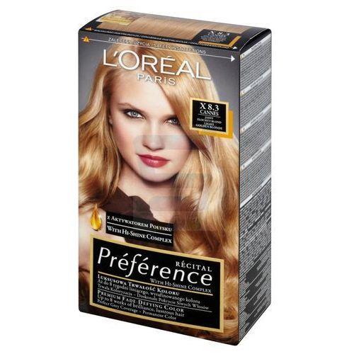 L'oreal paris Recital preference farba do włosów x 8,3 champagne jasny blond złocisty - (3600010012832)