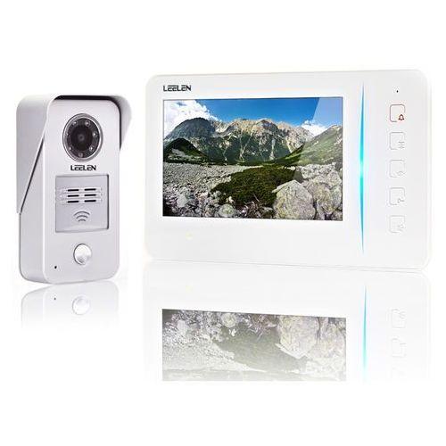 Wideodomofon - 7cali N60/No15nc/DIN +3xbrelok (z czytnikiem), N60-NO15NC-DIN