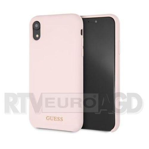 Guess GUHCI61LSGLLP iPhone Xr (jasnoróżowy), kolor różowy