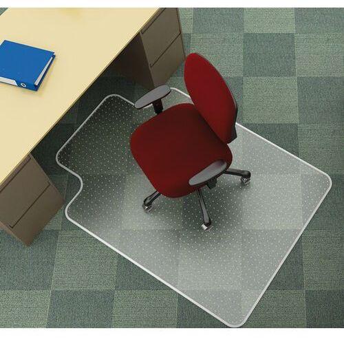 Mata pod krzesło Q-CONNECT, na dywany, 122x91,4cm, kształt T