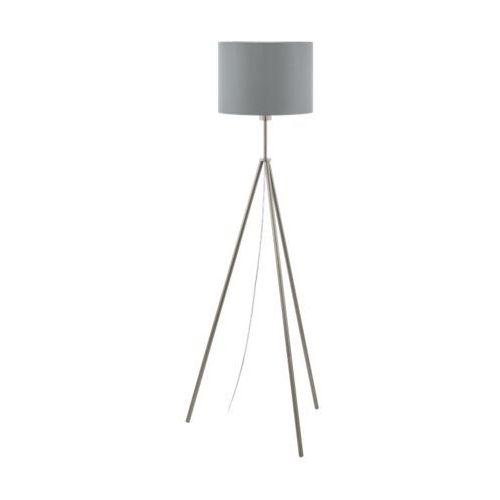 Eglo Scigliati 98392 lampa podłogowa oprawa stojaca 1x60W E27 szara (9002759983925)