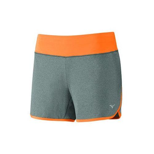 Mizuno  active short - gray/orange (5054698216361)