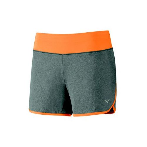 Mizuno  active short - gray/orange (5054698216385)