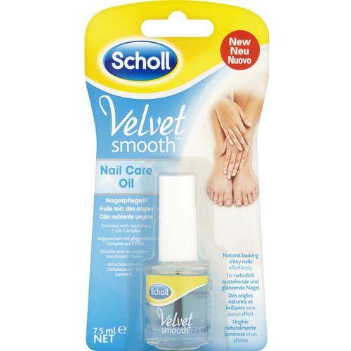 Scholl Velvet Smooth Velvet Smooth olejek odżywczy do paznokci (Nail Care Oil) 7,5 ml (5052197048209)