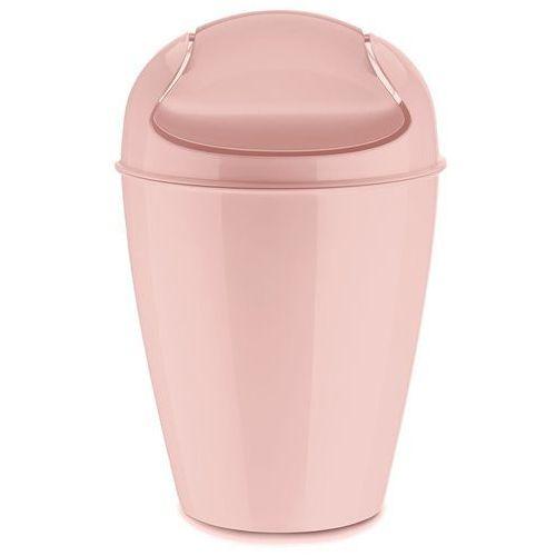 Koziol Kosz na śmieci del s pastelowy róż (4002942382776)
