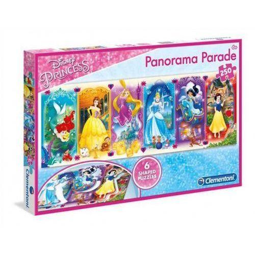 Clementoni 250 elementów Panorama Parade Linia Specjalna Princess (8005125297504)