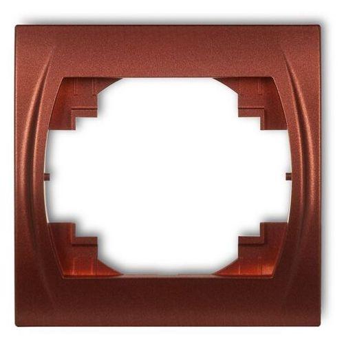 Karlik logo 1lrh-1 ramka pozioma pojedyncza beżowy (5908257118392)