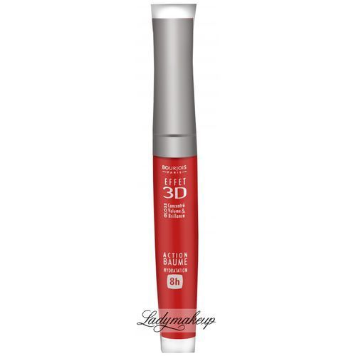 - gloss effet 3d - błyszczyk do ust 3d - 03 brun rose academic od producenta Bourjois