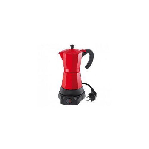 Kawiarka elektryczna Cilio Classico czerwona 6 tz