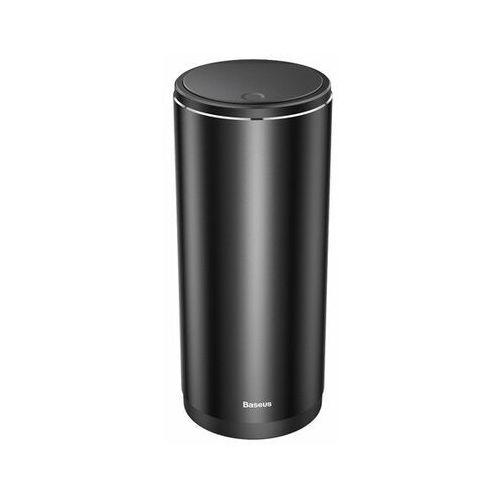 Baseus Gentleman Style | Kompaktowy kosz na śmieci samochodowy 500ml organizer + worki, kolor czarny