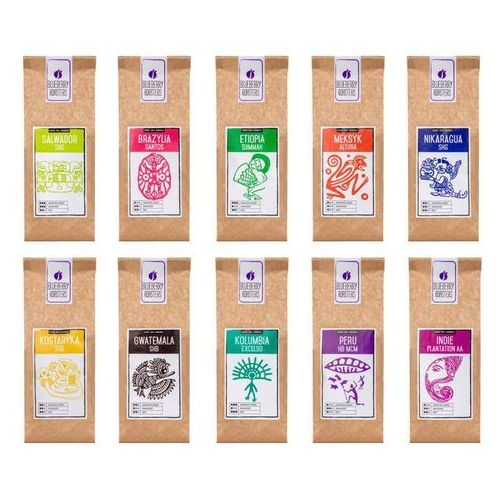 Zestaw powitalny – kawa ziarnista 10 x 100 g - sprawdź w wybranym sklepie