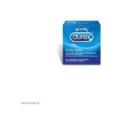 Prezerwatywy  extra safe a3 od producenta Durex