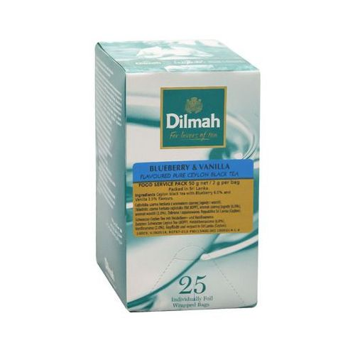 Dilmah blueberry & vanilla 25 torebek