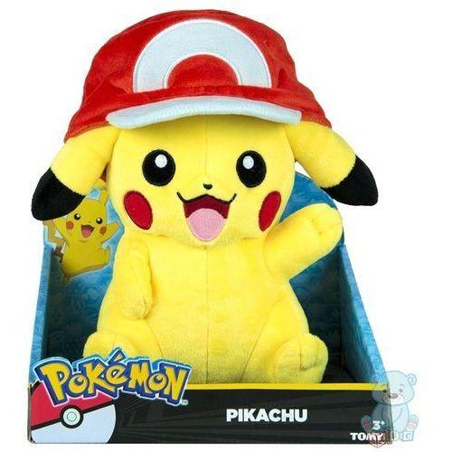 Maskotka Pikachu z czapką Asha Pokemon 25cm Tomy