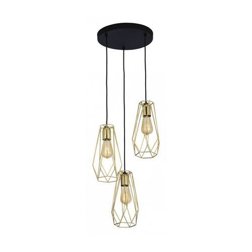 Tk lighting 2697 - żyrandol na lince lugo 3xe27/60w/230v (5901780526979)