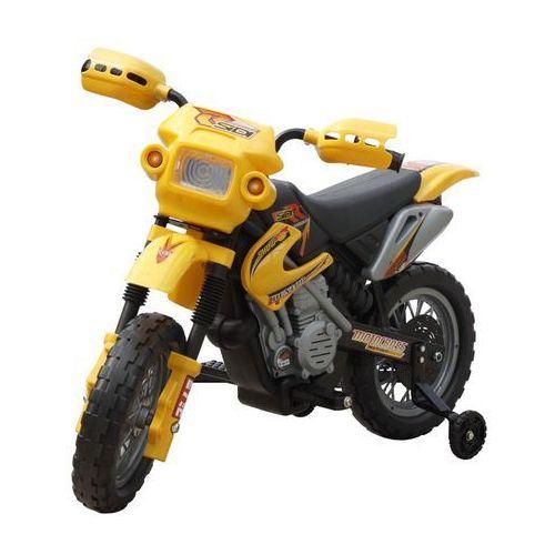vidaXL Motorek elektryczny dla dzieci (żółty) (8718475810001)