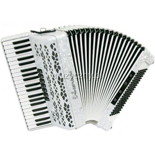 E.Soprani 123 KK 41/3/7 120/5/4 akordeon (biały perłowy)