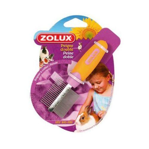 grzebyk dwustronny dla małych zwierząt marki Zolux