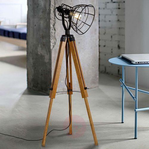 Lucide joshua lampa stojąca czarny, 1-punktowy - dworek - obszar wewnętrzny - joshua - czas dostawy: od 3-6 dni roboczych