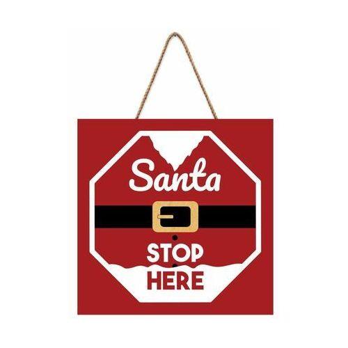 Knor Tabliczka świąteczna santa 30 x 30 cm (5901554536678)