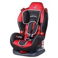 Caretero Fotelik samochodowy  sport turbo czerwony + darmowy transport! (5902021520954)