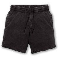 """szorty VOLCOM - Steppen Ew Short 17"""" Black (BLK) rozmiar: L, kolor czarny"""