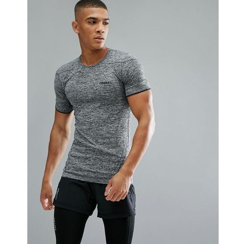 sportswear active comfort running knitted t-shirt in grey 1903792-9999 - black, Craft
