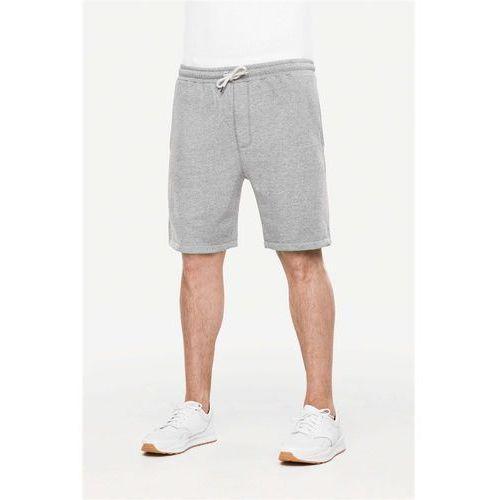 Szorty - sweat structured grey (structured grey) rozmiar: l, Reell