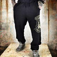 F*ckers Spodnie Dresowe - Czarne, dresowe