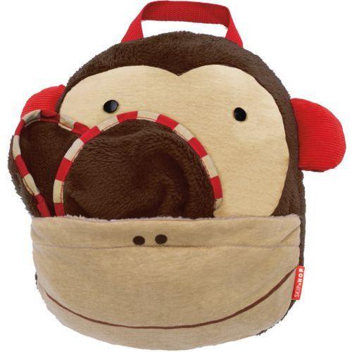 Skip hop  zoo kocyk podróżny – małpka