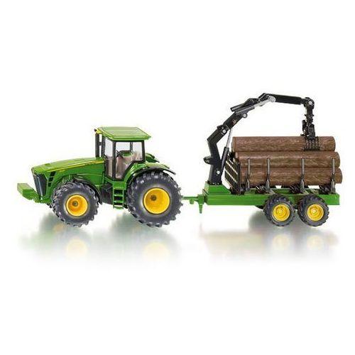 SIKU Traktor z Przyczepą Leśną - produkt z kategorii- Traktory