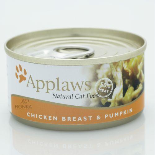 chicken & pumpkin karma dla kotów kurczak i dynia puszka marki Applaws
