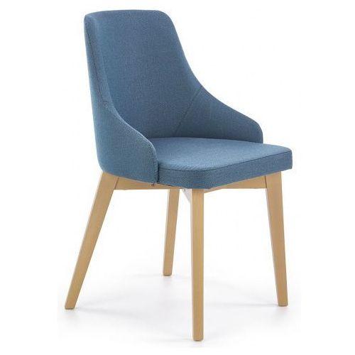 Krzesło drewniane altex - turkusowe marki Elior.pl