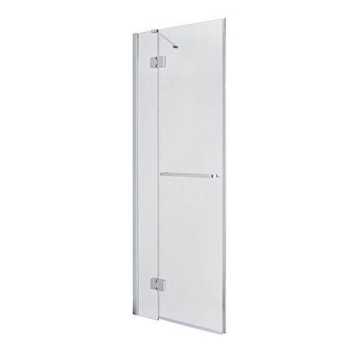 Drzwi prysznicowe uchylne GoodHome Naya 80 x 195 cm szkło transparentne (3663602769712)