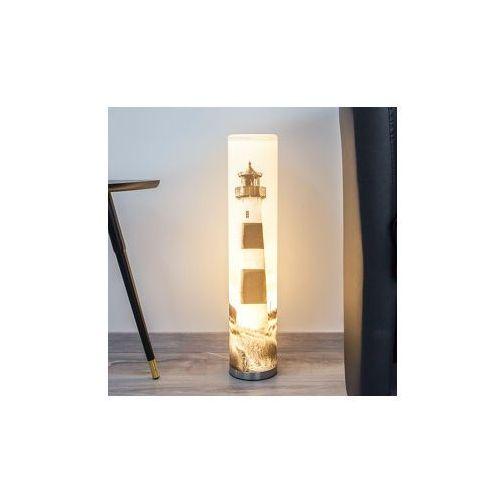 Lampa stołowa led eastern sea z motywem latarni od producenta Lampenwelt