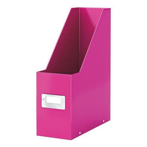 Pojemnik na dokumenty wow a4/10cm 6047-23 różowy marki Leitz