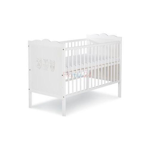 łóżeczko marsell biały 120x60 marki Klupś